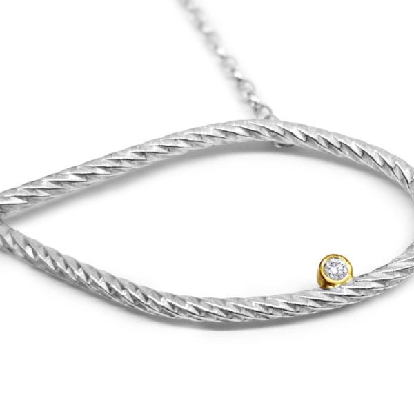 Infinity Necklace Close-Up