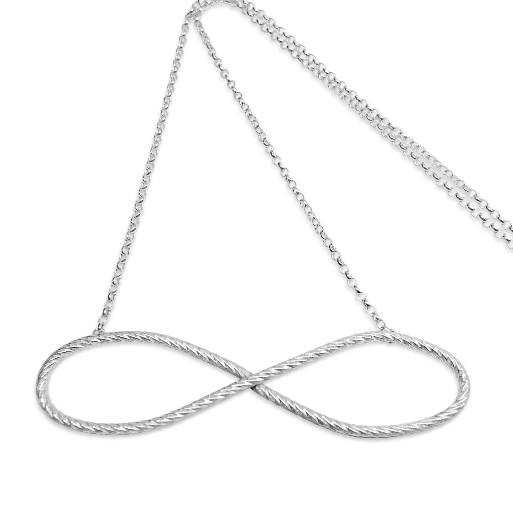 jewelry products necklaces diamond pendant enlarged yurman necklace infinity david